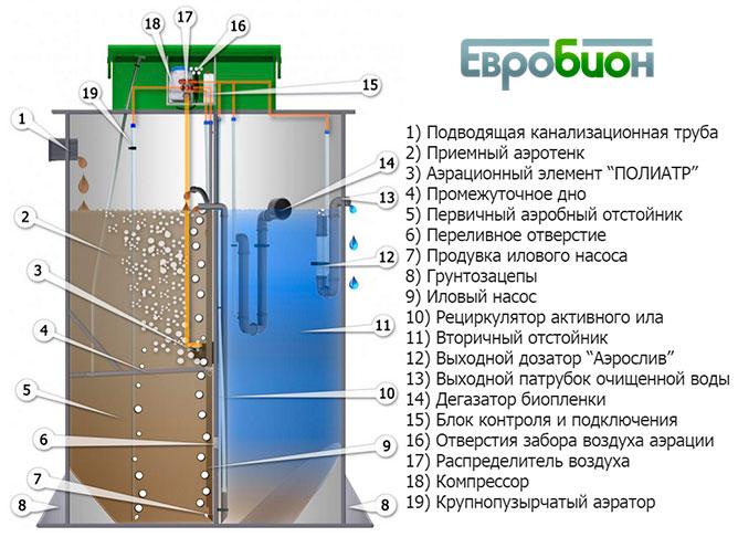 Схема системы «ЕВРОБИОН»